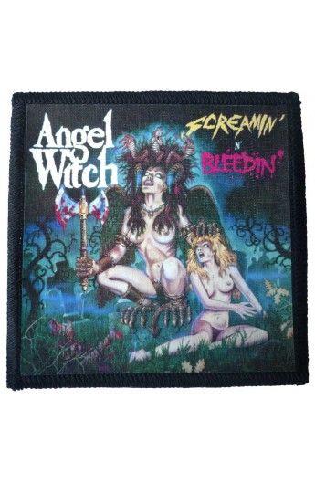 ANGEL WITCH - Screamin N Bleedin (Toppa Piccola) € 3,99  http://www.eraskor.com/it/toppe-band/529-ngel-witch-screamin-n-bleedin-toppa-piccola.html?search_query=angel+witch&results=4  - misure: (larghezza 10 cent. - altezza 10 cent.) - tessuto: feltro  - Fabbricazione: Italia - Tecnica di stampa: stampa su tessuto  ModelliRock BrandMP Service ToppeDa cucire  #angelwitch #angelwitchheavymetal #angelwitchscreaminnblood #angelwitchtoppa #angelwitchpatch #eraskorstore