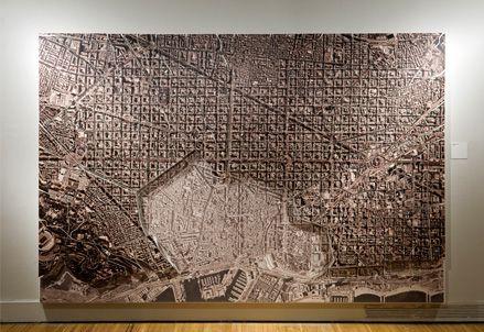 Exposição Cerdá e o Fututro de Barcelona- http://www.lamosca.com/exposicions/cerda.html