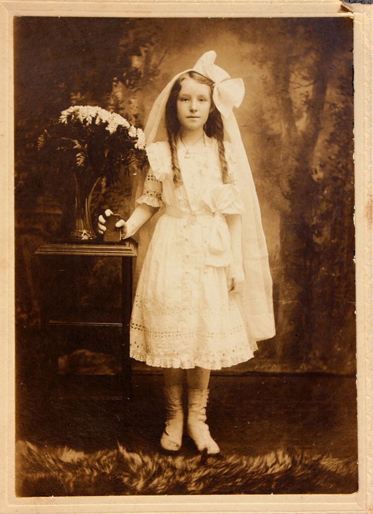 First Communion photo | Vintage First Communion