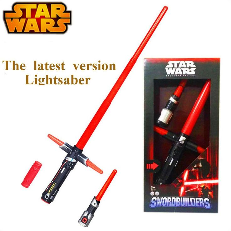 105cm Star Wars Lightsaber 7 The Force Awakens Kylo Ren LED Scalable Cosplay Darth Vader Action Figure