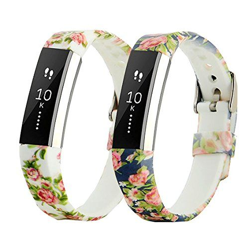 Replacement Band for Fitbit Alta,CreateGreat Classic Wristband Strap Bracelet with Secure Silicone Fasteners Metal Clasps for Fitbit Alta/Fitbit Alta Band/Fitbit Alta Bands(No Tracker)
