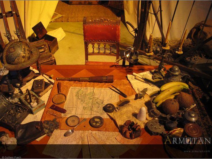 ©#armutan © #guilhempuech #pirates #Inferi #barbepeste #astrolabe #cartes #longuevue #navigation #aventure #flibustiers