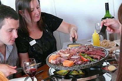 raclette dining for two