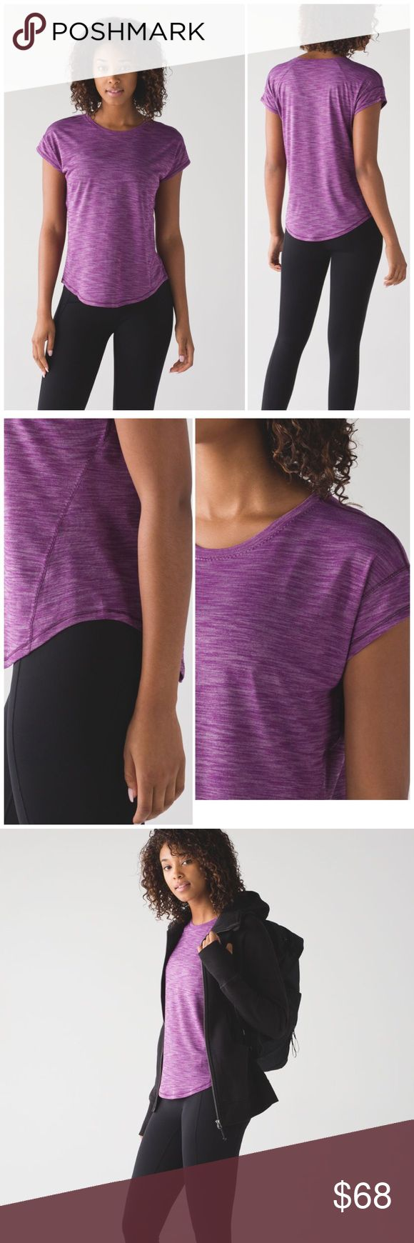 NWT Lululemon Tee From high-intensity sweat dates to coffee shop stops, this lightweight, versatile tee has you covered. Seriously Light™ LuonOur sweat-wicking, four-way stretch Seriously Light™ Luon fabric makes moving a breeze seriously lightweight sweat-wicking four-way stretch cottony-soft lululemon athletica Tops Tees - Short Sleeve