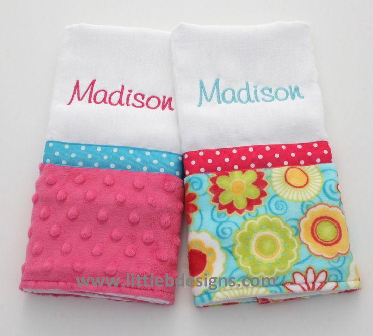 Wash Cloths As Burp Cloths: 35 Best Baby Burp Cloth Ideas Images On Pinterest