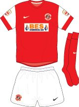 Fleetwood Town home kit for 2012-13.