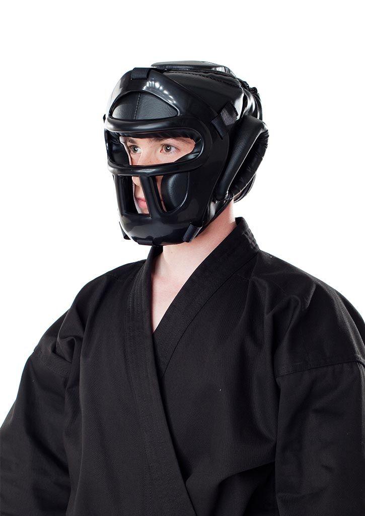 DAX Ochraniacz głowy z kratą