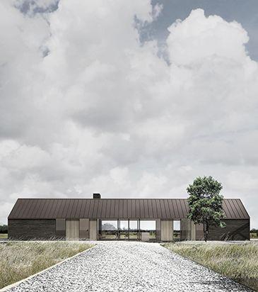 BAKS ARKITEKTER - Farm House, Denmark. Nordic architecture, house, design, scandinavian, country house, minimalistic, living