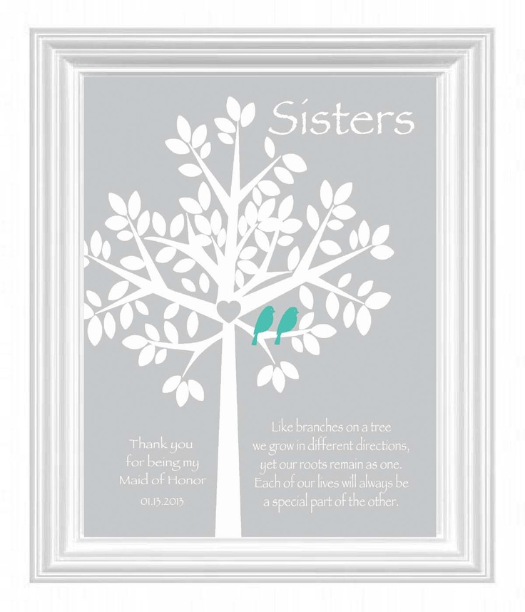 Best Wedding Gift For Cousin Sister : - Maid of Honor Gift Wedding Gift for Sister -Bridesmaid Best Friend ...