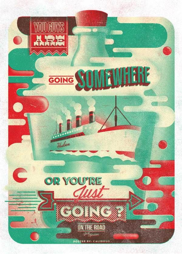 On The Road on Behance