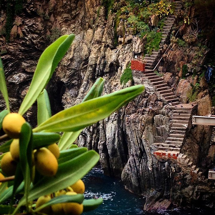 Steps to the Ocean, Cinque Terre, Italy Photography by Esther Sanchez