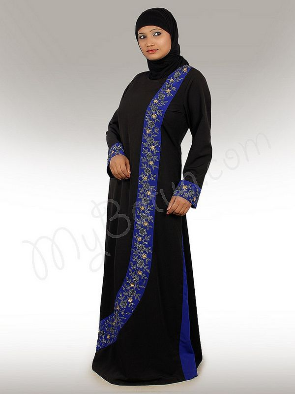 Shahina Abaya !   Style No: Ay-167   Shopping Link  : http://www.mybatua.com/shahina-abaya   Available Sizes XS to 7XL (size chart: http://www.mybatua.com/size-chart/#ABAYA/JILBAB)