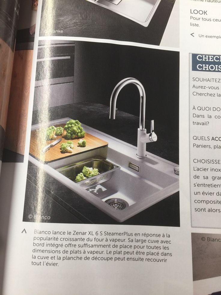 111 best Cuisine images on Pinterest Cuisine design, Dark kitchens - decoupe plan de travail pour evier