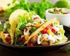 Tacos au porc à la mayonnaise