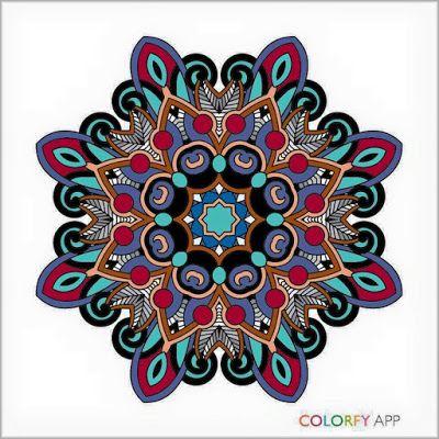 Mandala Colorfy