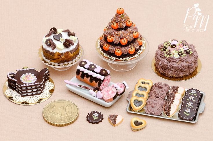 New miniature food with a chocolate vibe coming to Etsy Friday 13 November 2015 www.parisminiatures.etsy.com