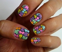 This reminds me of autism awareness..pretty cool!