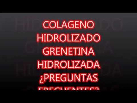 Como Regenerar el Cartílago más Rapido con Grenetina Hidrolizada - YouTube