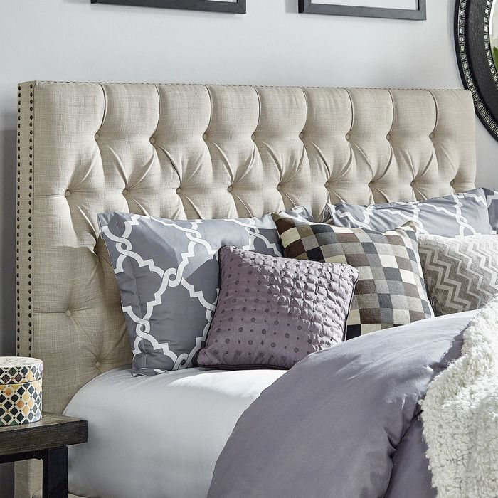 17 best ideas about upholstered headboards on pinterest