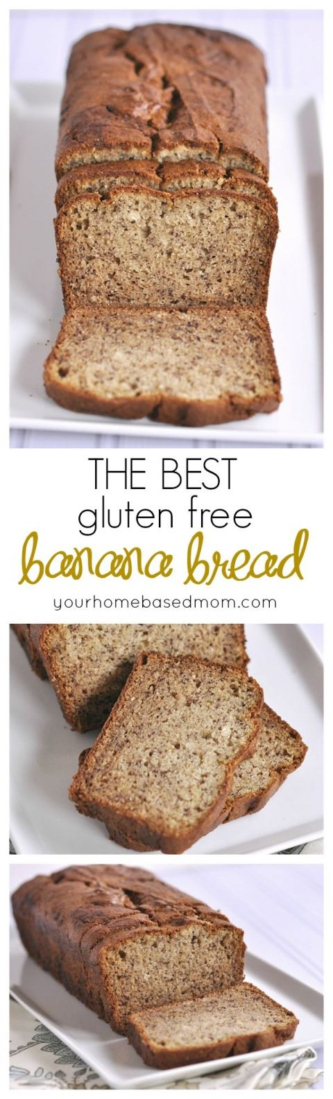 The Best gluten free banana bread  you will every try!  No one will know it's gluten free. {SBW+++}:
