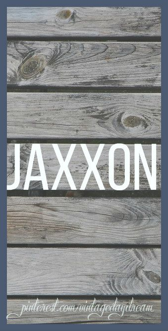 Baby Boy Name: Jaxxon. Meaning: Son of Jack. Associated meaning: God is Gracious (Jack).Origin: American; English.