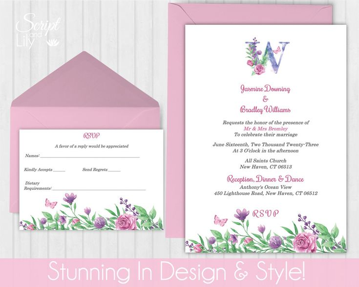 386 Best Instant Downloadable Edit And Print Digital Wedding   Free Rsvp  Card Template  Free Rsvp Card Template
