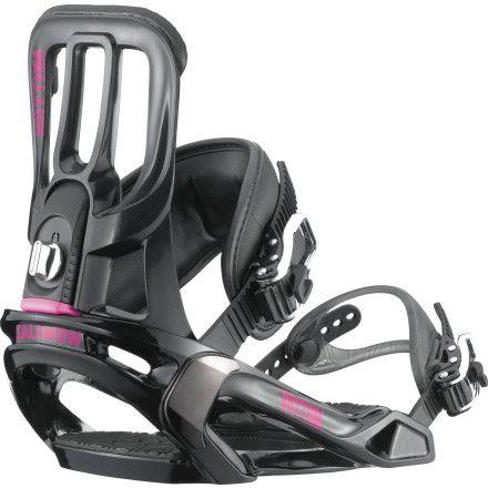Salomon Snowboards Rhythm Snowboard Binding - Women's | Dogfunk.com