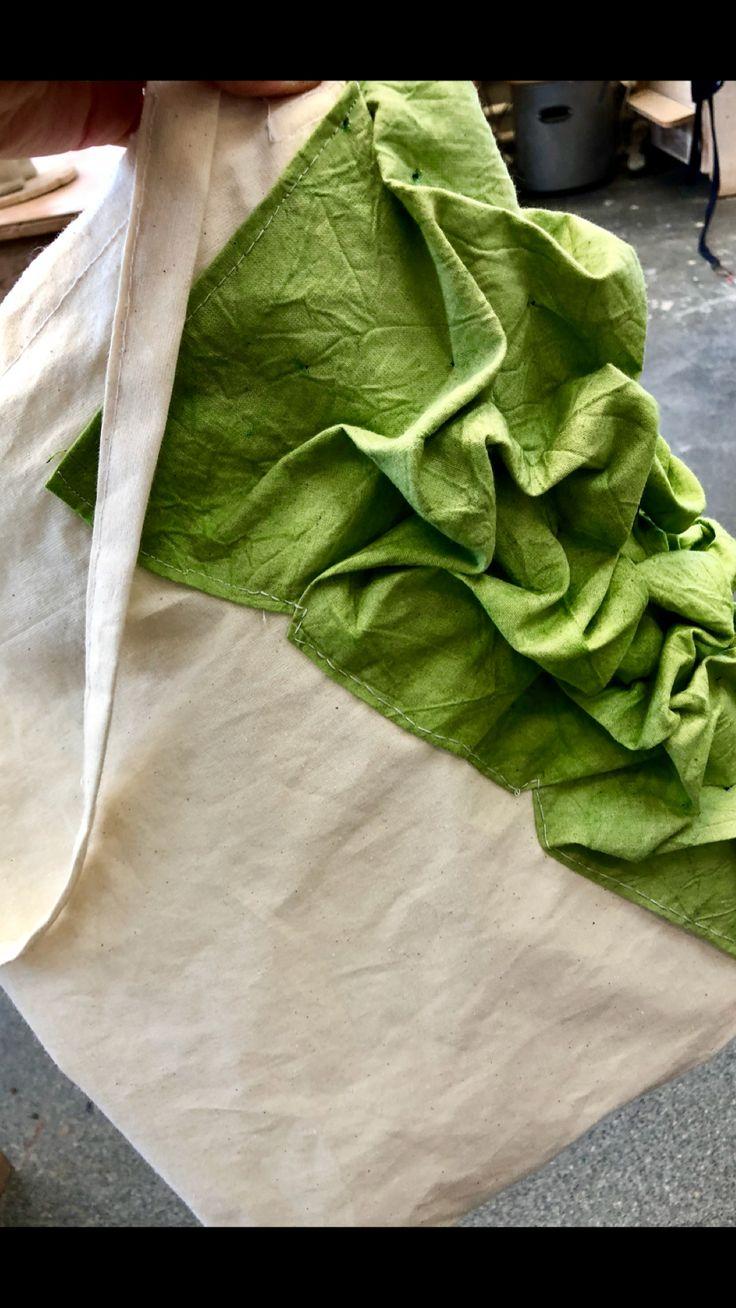 Tote bag - smocked
