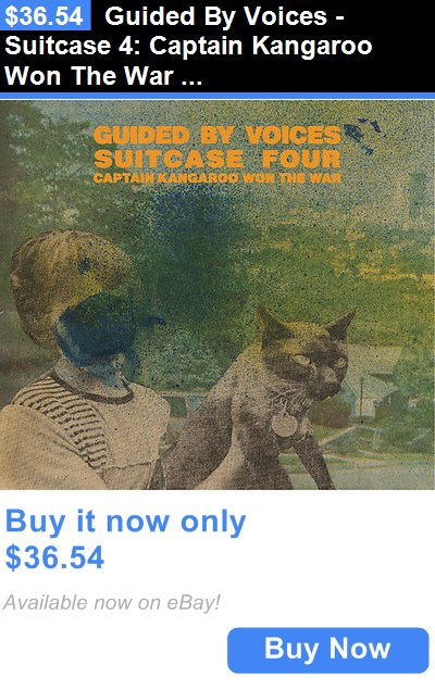 Music Albums: Guided By Voices - Suitcase 4: Captain Kangaroo Won The War [Cd New] BUY IT NOW ONLY: $36.54