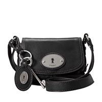 ZB4502001 Fossil Ladies Handbag, Maddox Small Flap Black Now £49.00 RRP £94.00 www.shushstore.com