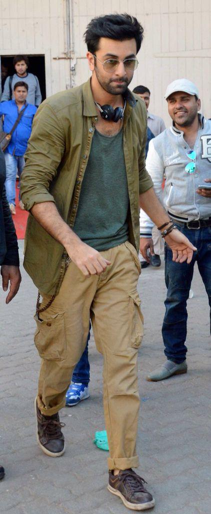 Ranbir Kapoor snapped at Mehboob Studios