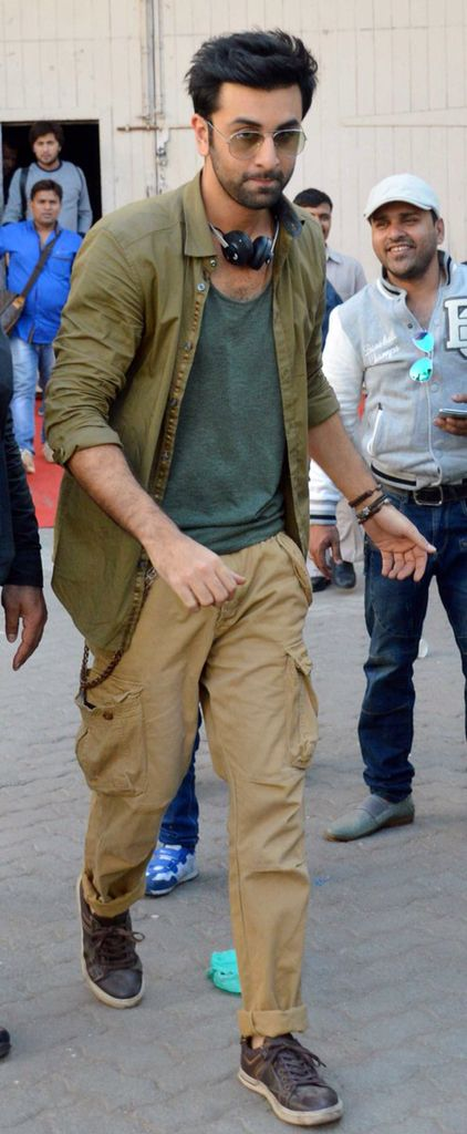 Ranbir Kapoor snapped at Mehboob Studios