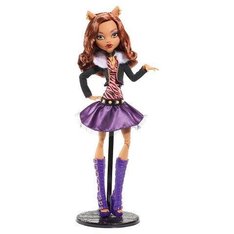 Monster High 17-Inch Clawdeen Wolf Doll