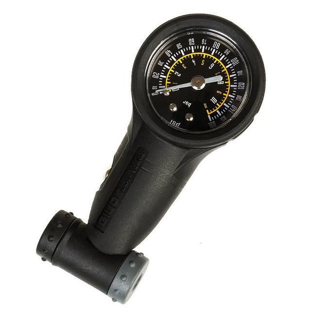 Bicycle Bike MTB Air Pressure Gauge 160Psi Tire Meter For Presta//Schrader valve