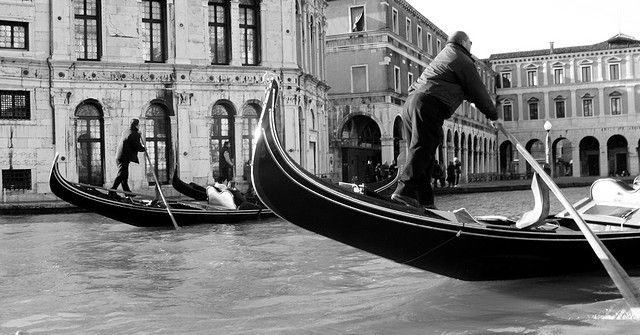 Gondolas in Venice - Limited Prints Available
