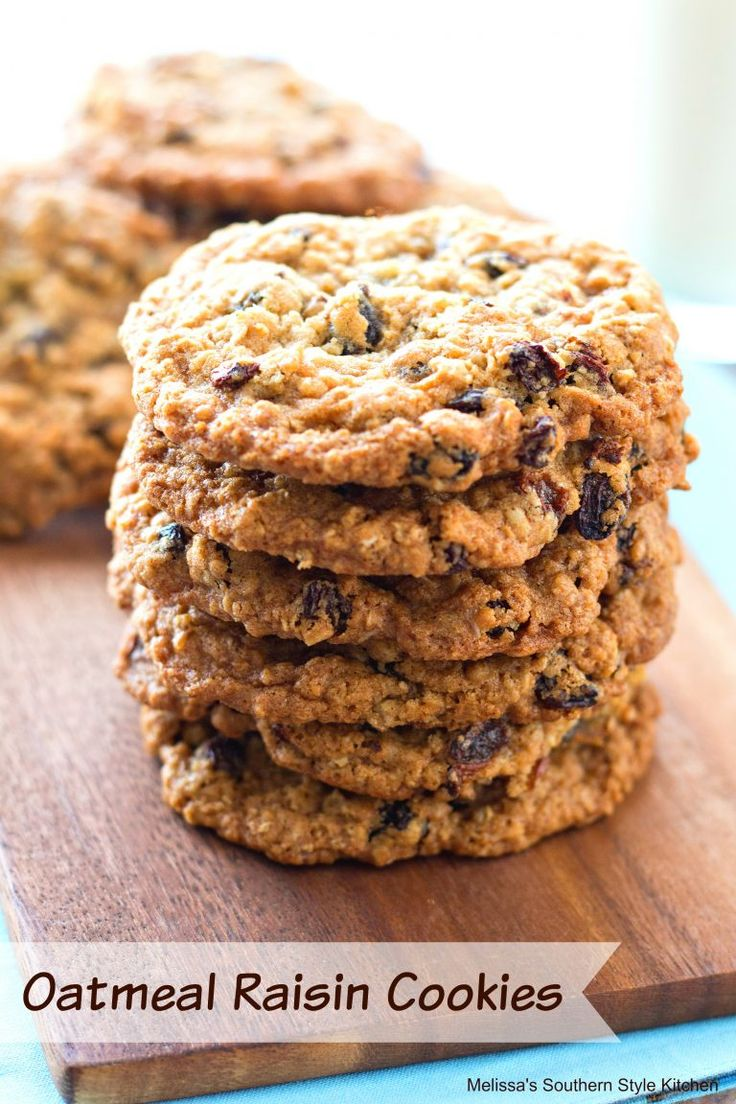 Best 20+ Oatmeal Raisin Cookies ideas on Pinterest ...