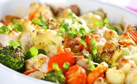 Basische Gemüsegerichte liefern dem Körper die nötigen Basen um zu entsäuern. Basen unterstützen die Entsäuerung auf leichte und vor allem geschmacksvolle Art und Weise.