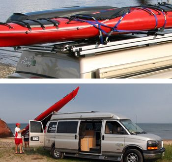 sprinter van kayak rack - Recherche Google