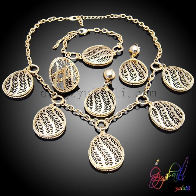 Free shipping  2015 Wedding Accessories UK Gold Plated Jewellery Charms Wholesale Woman Costume African Jewelry Sets-in Jewelry Sets from Jewelry on Aliexpress.com | Alibaba Group