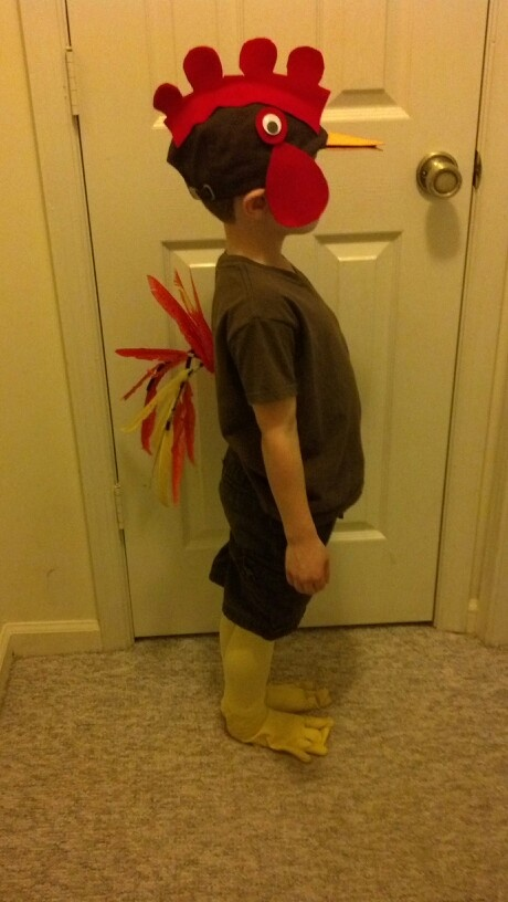 Rooster costume   Costumes   Pinterest   Costumes, Brown ...