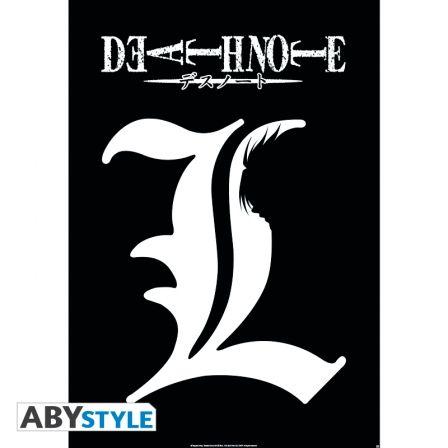 DEATH NOTE Poster Death Note L Symbole (98X68)