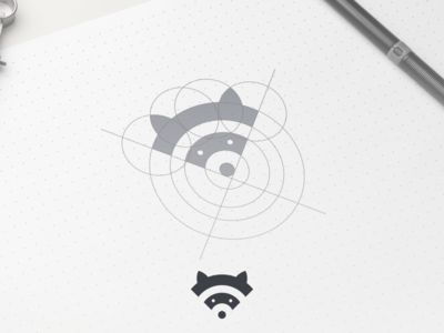 Love the cleverness of this icon, and neat to see the sketching of it too.