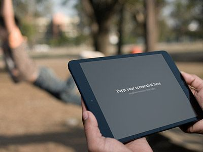 iPad mini with kids on swings in the background: https://placeit.net/stages/black-ipad-mini-landscape-park Follow us for a chance to snag a free subscription coupon!