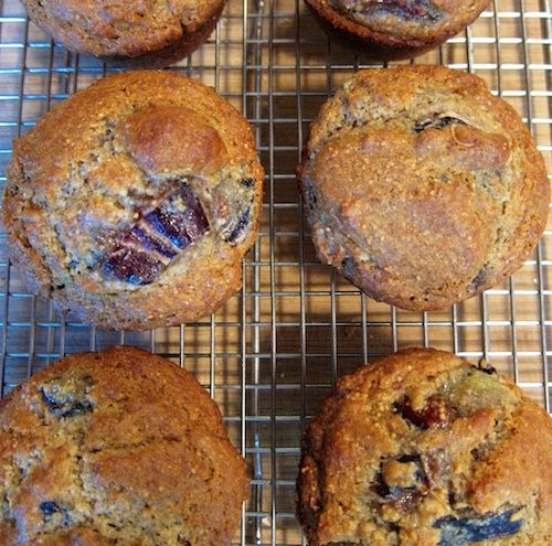Fig Muffins - Clean Eating - Gluten Free