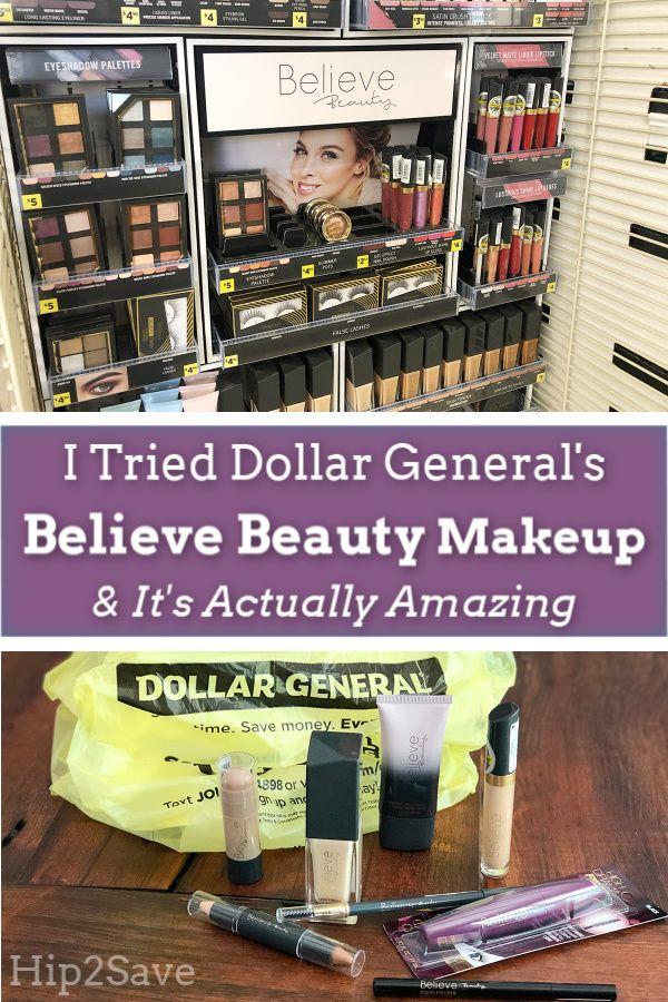 I Tried Dollar General's Believe Beauty Makeup & It's