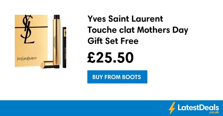Yves Saint Laurent Touche clat Mothers Day Gift Set Free C+C, £25.50 at Boots