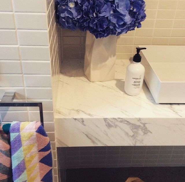 Bathroom tiles and marble