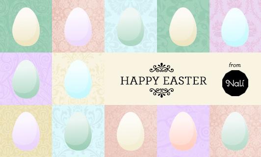 Happy Easter www.nalishop.it