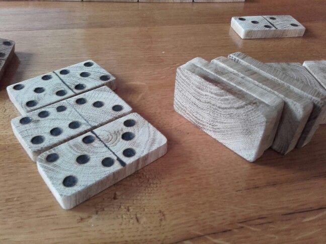 Handmade domino
