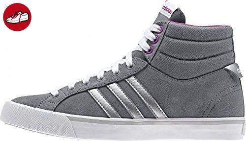 adidas Neo PARK ST MID W Grau Lila Wildleder Damen Mode Sneakers Schuhe Neu (*Partner-Link)